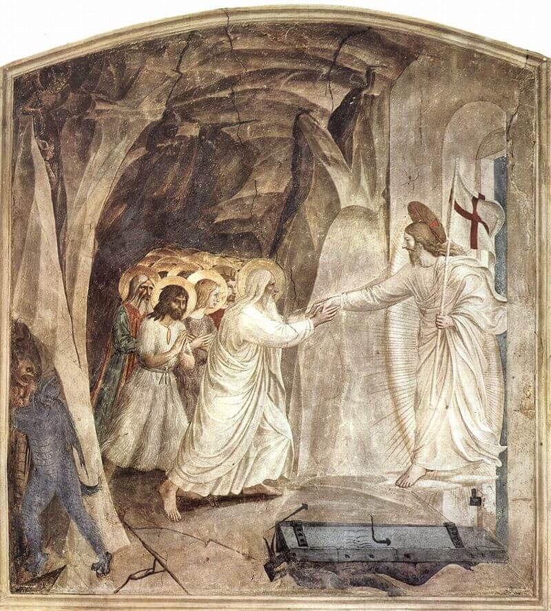 The Harrowing of Hell by Fra Angelico