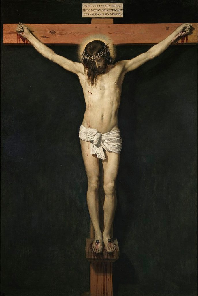 The Crucifixion by Diego Velazquez