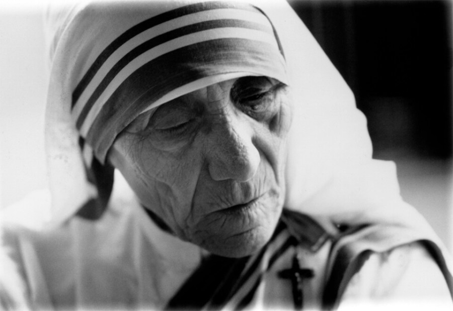 Mother Teresa, CRS credit