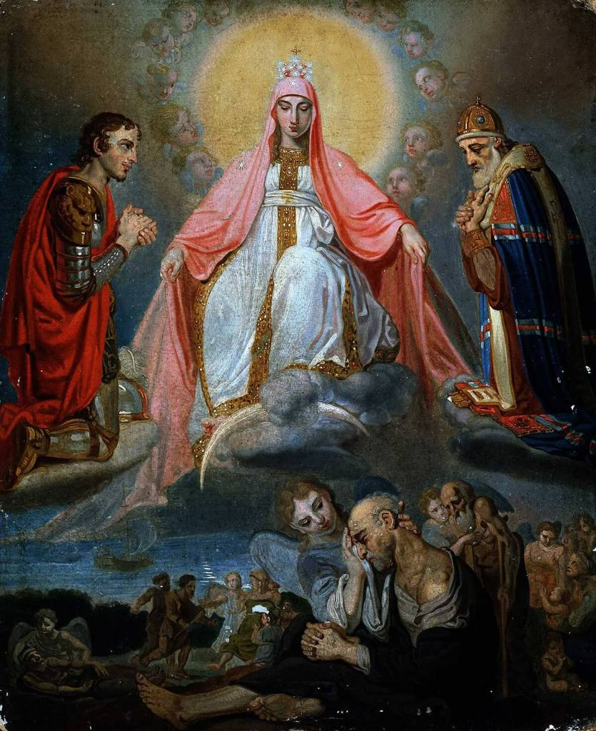 Our Lady of Sorrows by Vladimir Borovikovsky