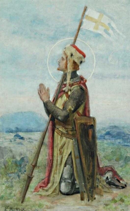 St. Wenceslaus by Vojtěch Bartoněk