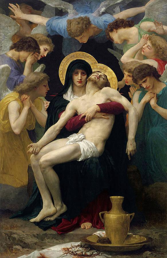 Pieta by William Adolphe Bouguereau, 1876