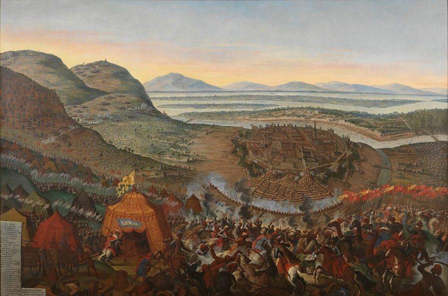 The Battle of Lepanto of 1571 by Andries van Eertvelt