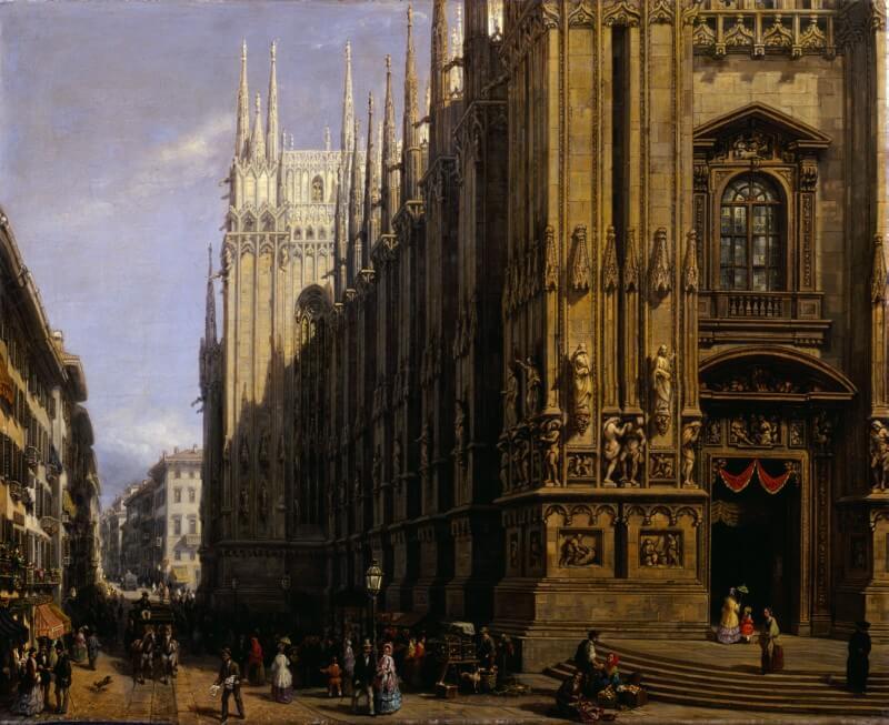 Il Duomo di Milano e la Corsia dei Servi by Carlo Canella