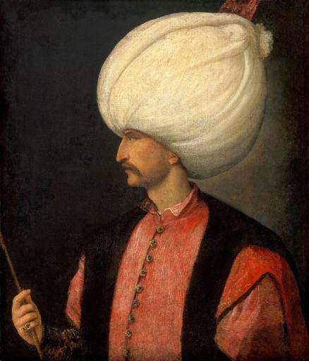 Portrait of Suleiman the Magnificent by Titian