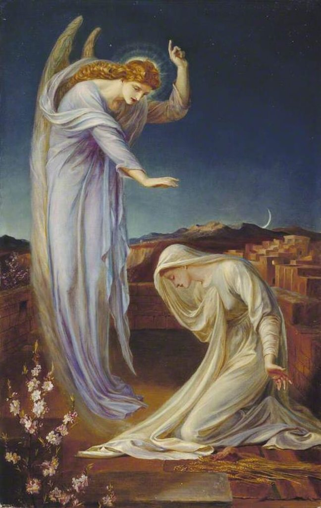 The Annunciation by Frederick James Shields