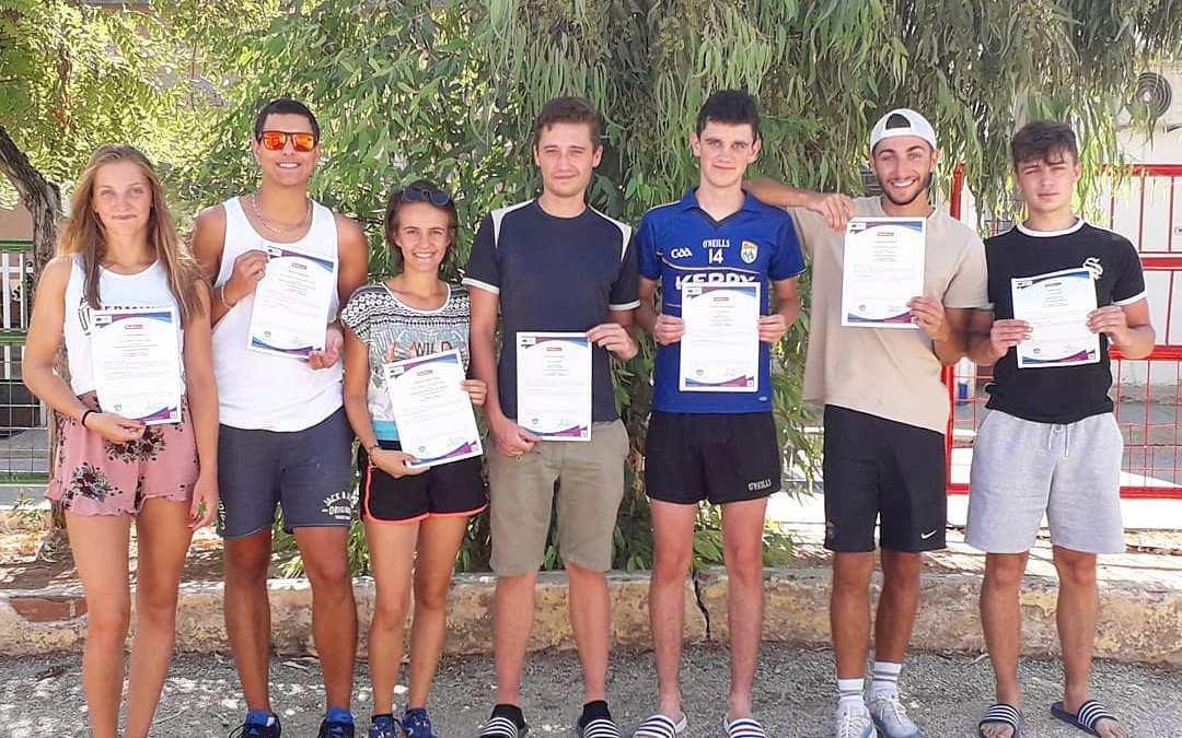 Leitrim volunteers enjoy Greece
