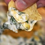 Baked Artichoke & Spinach Dip