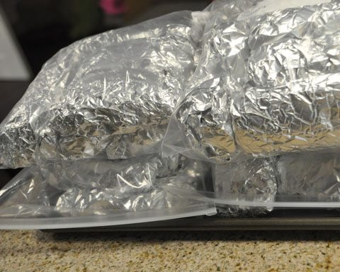 Lunch Freezer Burritos