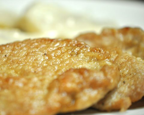 Crockpot Mushroom Sherry Pork Loin