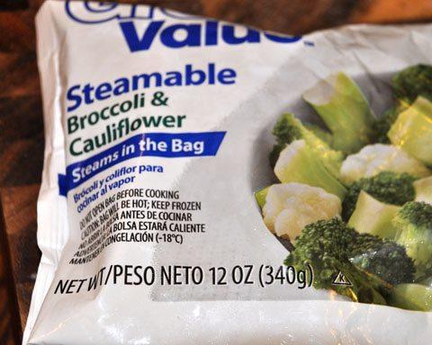 Broccoli Cauliflower Cheesy Bake