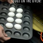 Perfectly Hard Boiled Eggs In the Oven