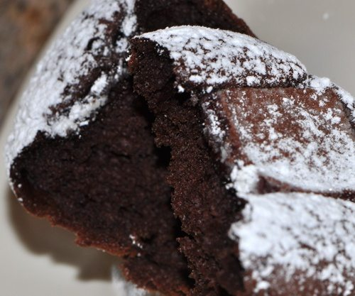 Goodeness Gracious Double Chocolate Raspberry Muffins