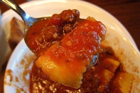 Infarrantly Creative Ravioli Soup
