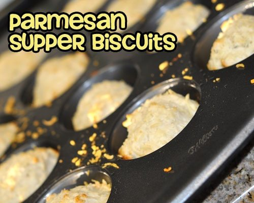 Parmesan Supper Biscuits
