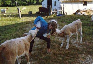 Sara amp  calves2 001