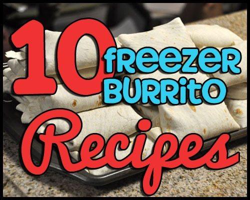 freezer burrito recipes copy