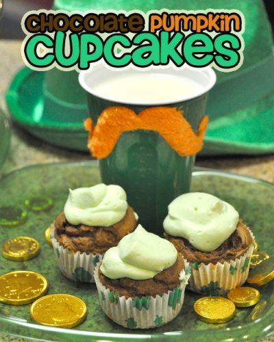 Chocolate Pumpkin Cupcakes Only 152 Calories