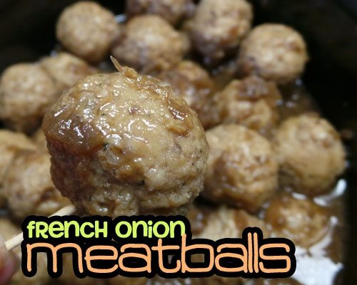 French-Onion-Meatballs