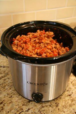 Turkey Crockpot Chili