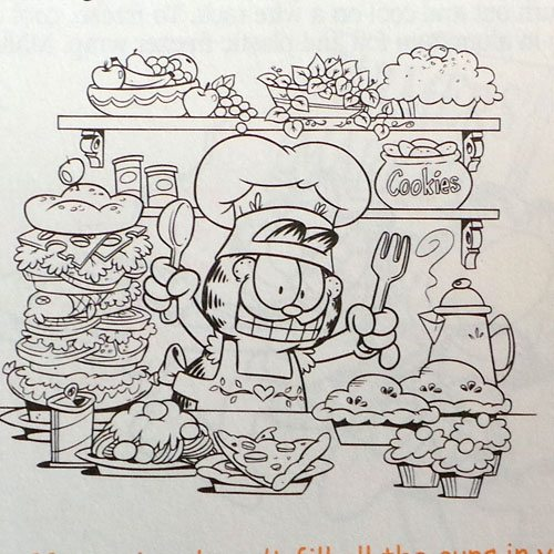 Garfield Cookbook