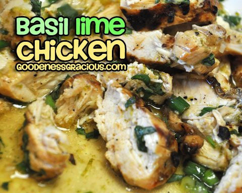 Basil Lime Chicken Recipe