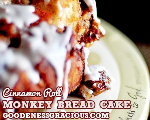 Monkey Bread Cake