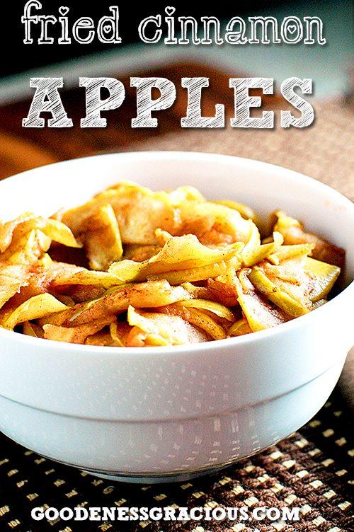 Easy Fried Cinnamon Apples