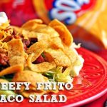 Beefy Frito Taco Salad