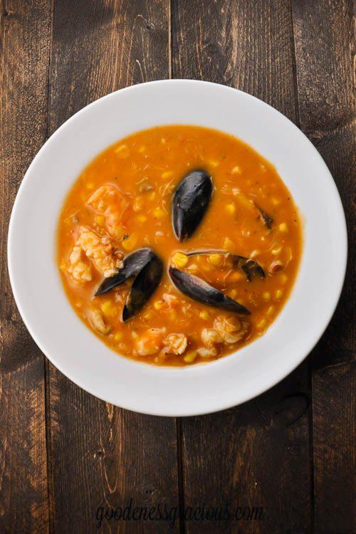 Seafood and Corn Soup