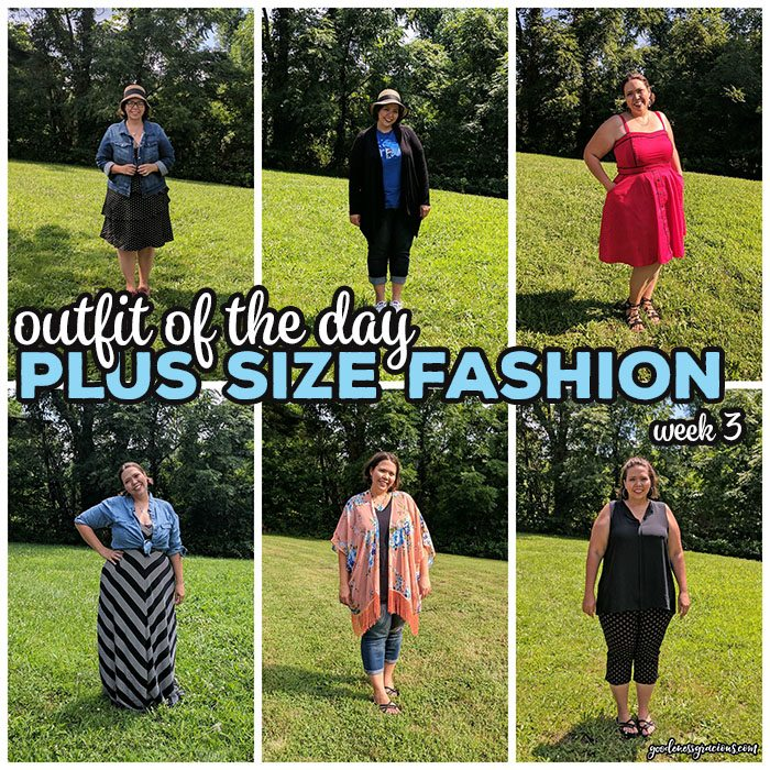 Join me on my journey to find plus size clothing that I love during my 30 days of Outfit of the Day project. I am sharing my fashion hits and misses each week in an effort to create a closet I love.