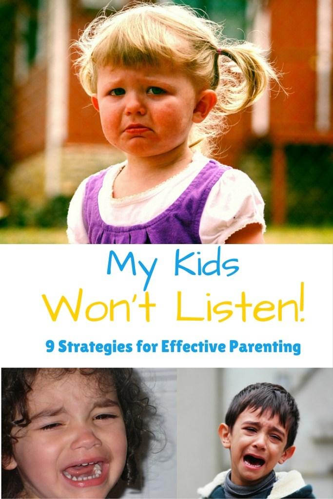My Kids Won't Listen