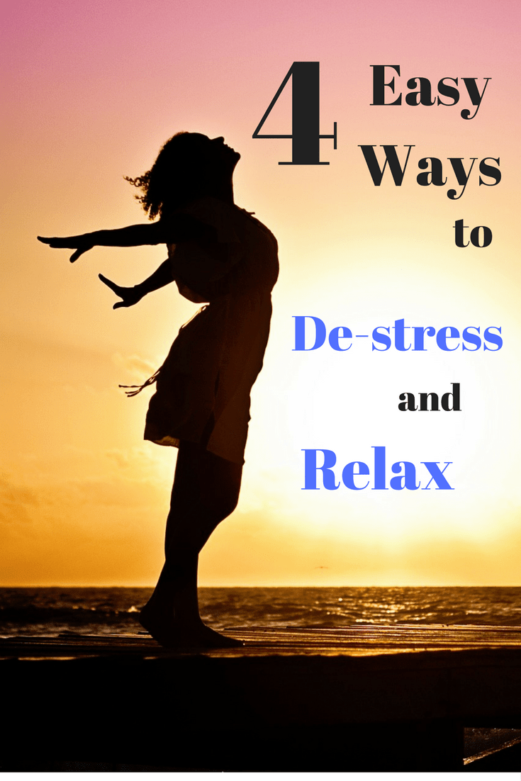 We all need to learn to take more moments for ourselves, relax, de-stress, and take a deep breath. These 4 easy strategies will help you destress and relax this Fall.