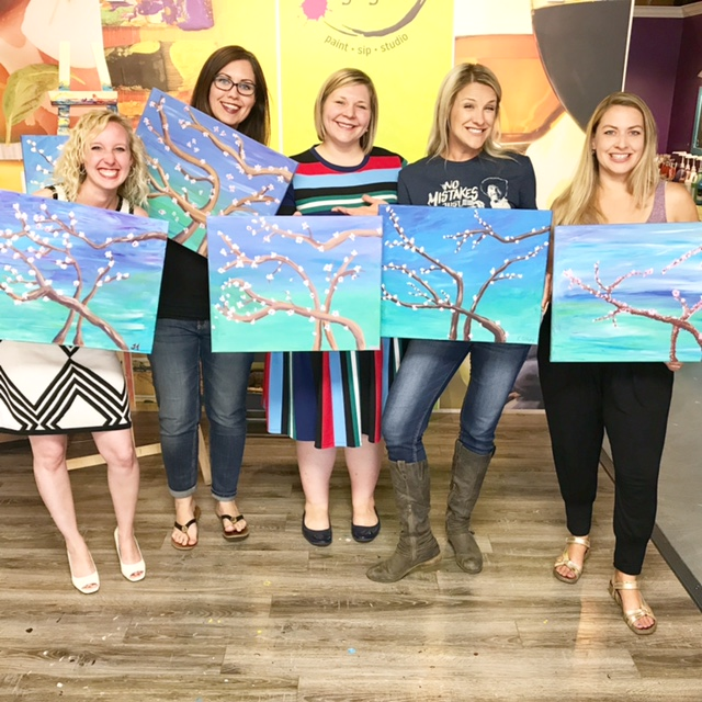 Vin Gogh in Calgary, AB is the perfect place to for a date night or ladies night out. People everywhere are flocking to paint nights. Read more to see why!