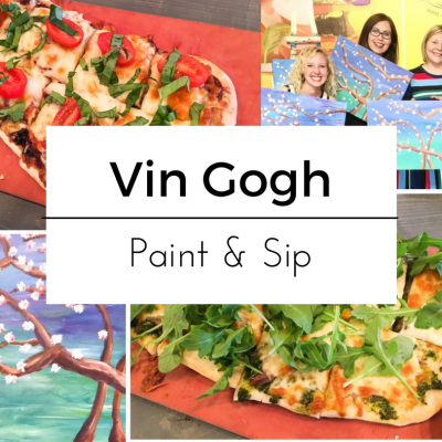 Ladies Paint Night at Vin Gogh in Calgary, AB