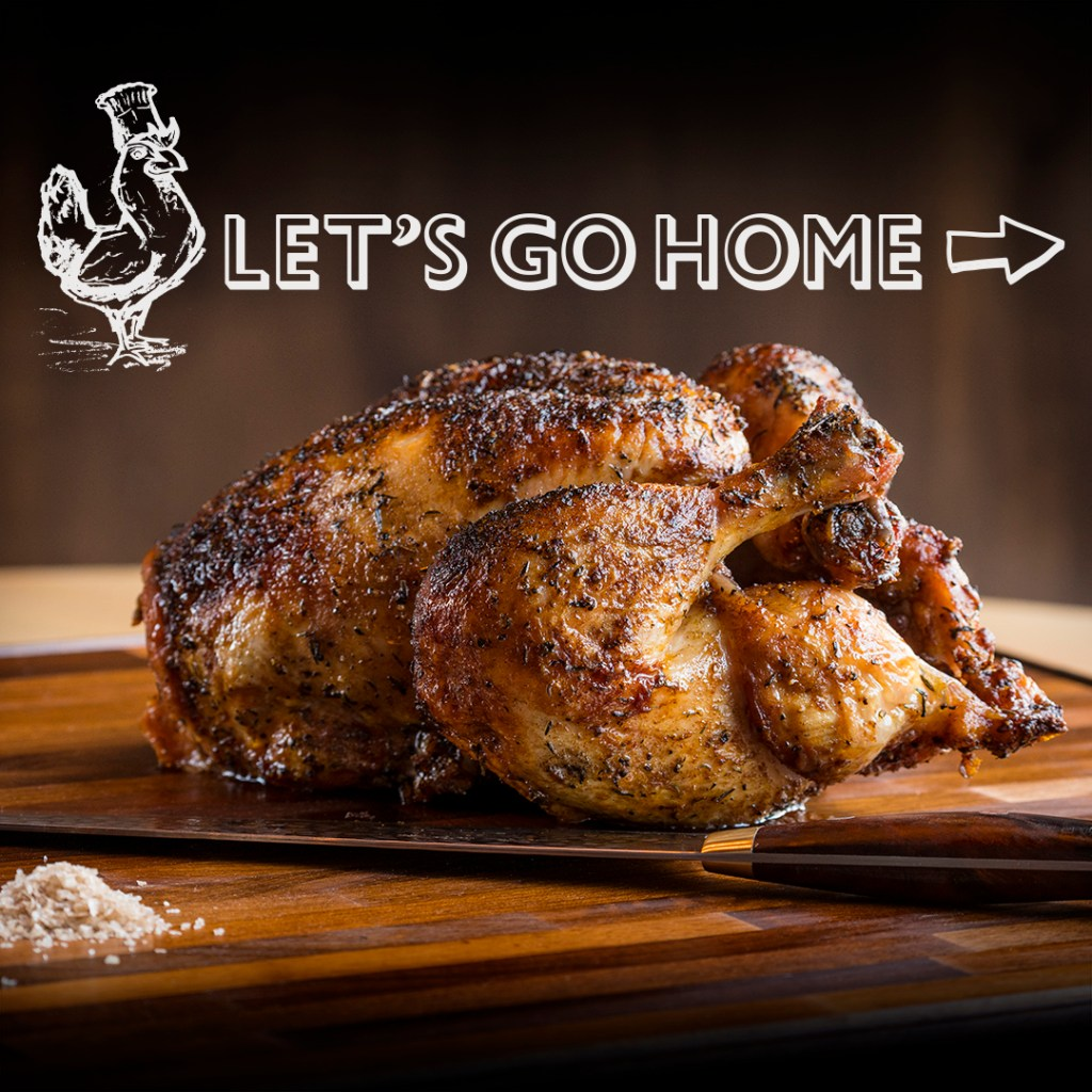 The Nash and NOtaBLE have recently launched a Let's Go Home Loyalty Program. Take out their famous rotisserie chicken and the sixth is free!