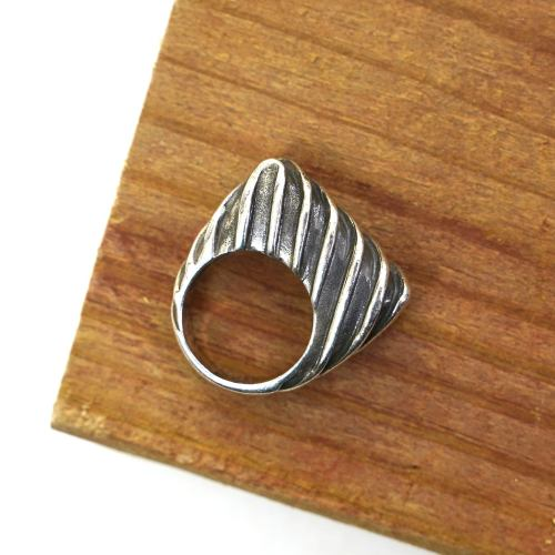 Dian Malouf Sterling Silver Ring Size 5.25