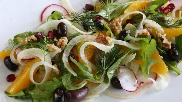 Fennel Orange And Walnut Salad Recipe Good Food