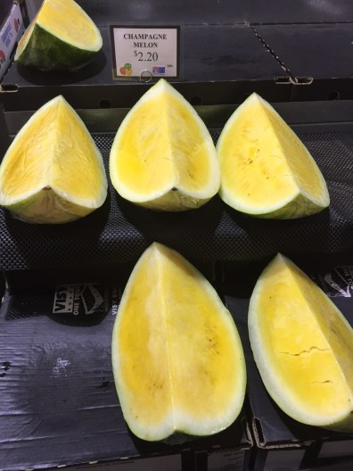 Champagne Melons
