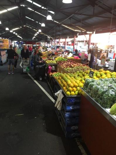 Vege stalls