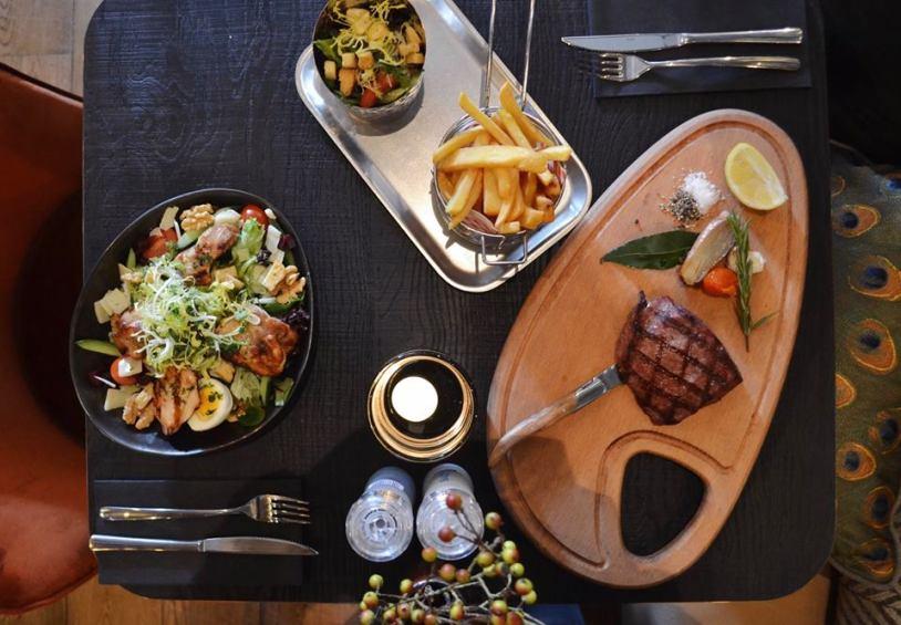 Food Restaurant Black Amsterdam