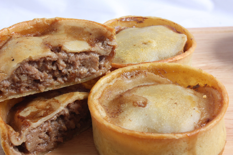 When I look back on how many of these pies I ate in my youth it is truly terrifying. To this day a staple for many in Scotland.