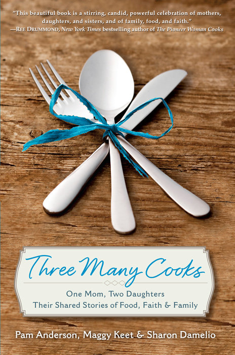 Three Many Cooks Book Pam Anderson