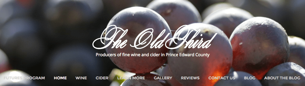 We find it hard to believe that the VQA would take issue with mentions of The Old Third's location on their website, like this.