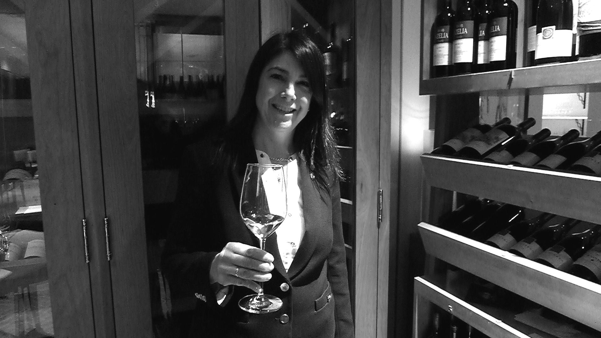Sommelier Lori O'Sullivan at  The Ritz-Carlton, Toronto.