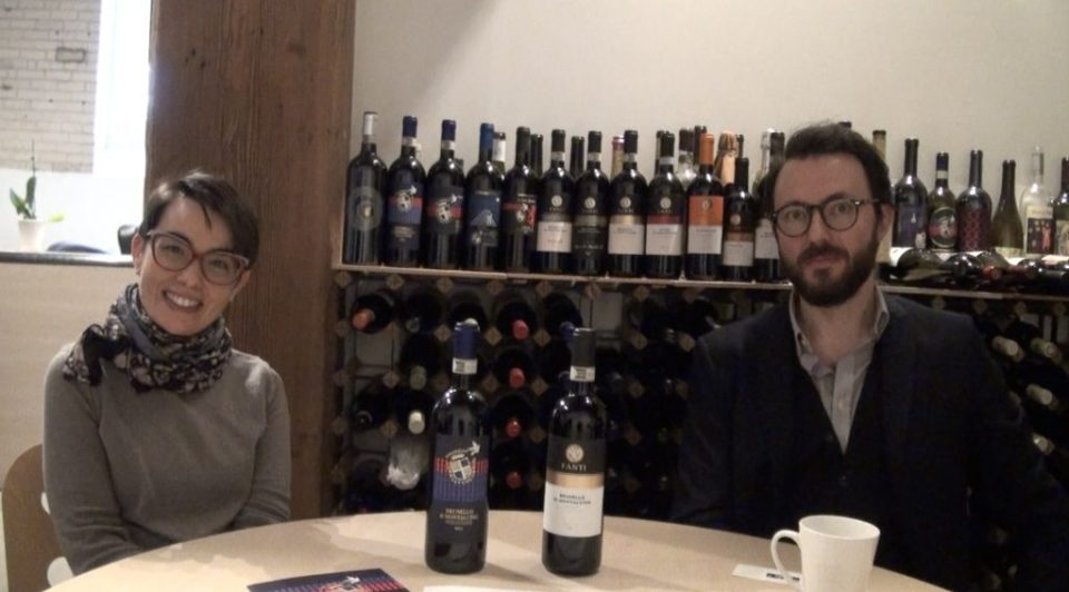 Violante Gardini from Donatella Cinelli Colombini and Luca Vitiello from Tenuta Fanti talk about the ins and outs of the 2012 and 2013 Brunello vintages at Le Sommelier's offices in Toronto's Liberty Village.
