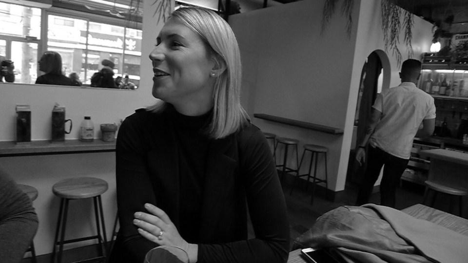 Sommelier Melissa Stunden at Toronto's Paris Paris.