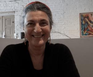 At Toronto's Bricco with Emmanuela Stucchi Prinetti from Badia a Coltibuono.