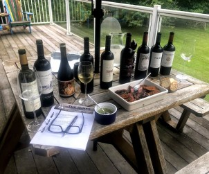 Tasting through some of the new LCBO Argentinian offerings, replete with Argentinian barbecue.
