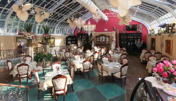mary ann's tea room interior